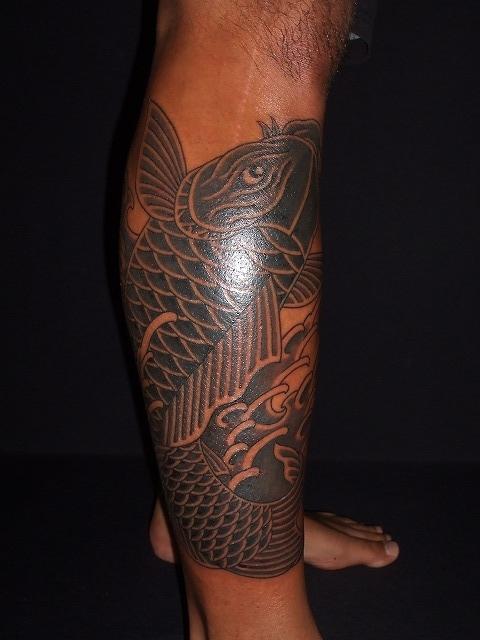 鯉の刺青タトゥー