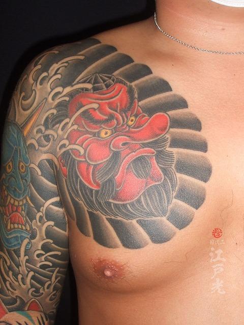 天狗(てんぐ)の刺青タトゥー