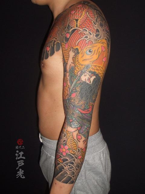 水滸伝の短命二郎阮小五(たんめいじろうげんしょうご)の刺青タトゥー