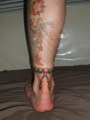 鯉 数珠 完成 刺青