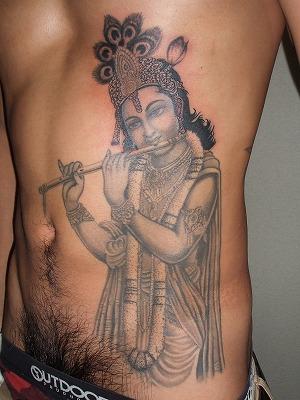 クリシュナの刺青