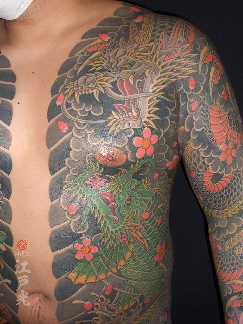 龍、登竜門、龍魚、刺青