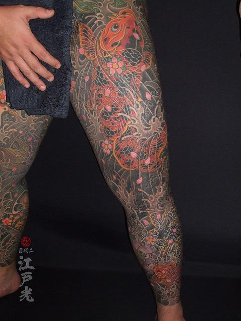 錦鯉の刺青
