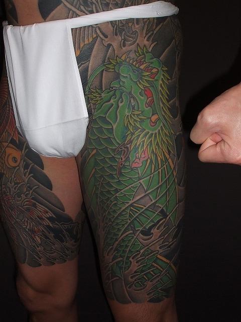 龍魚の刺青