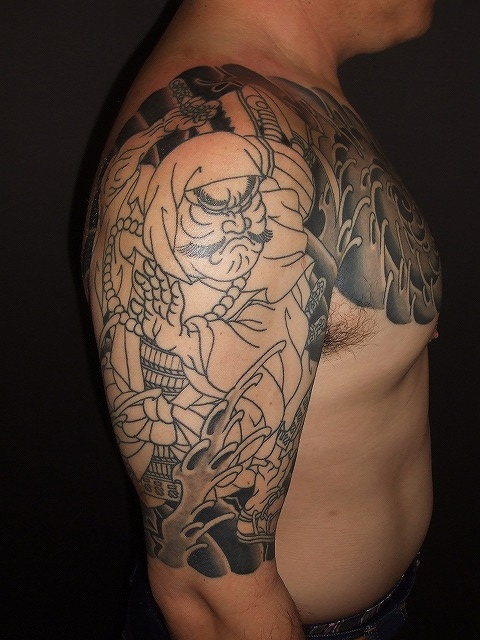 武蔵坊弁慶の刺青